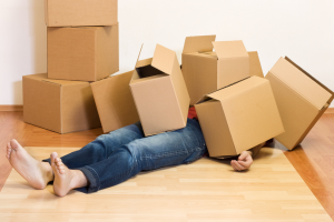 unpacking after a move